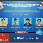 Vernalis Selected Students
