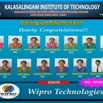 Wipro Selected Students